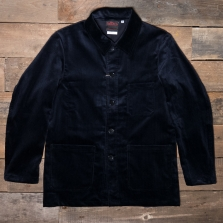 VETRA 4 Workwear Jacket Whale Cord Navy