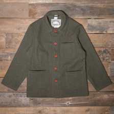LE LABOUREUR Veston Wool Khaki