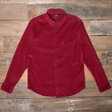 LEE Lee Button Down Cord Shirt Rhubarb Red