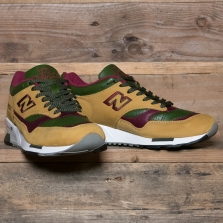 New Balance Made in UK M1500tgb Made In Uk Tan Green Burgundy