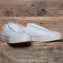 STEPNEY WORKERS CLUB Dellow M Leather White