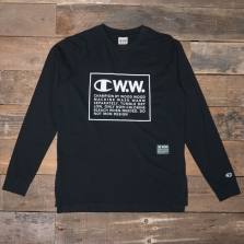CHAMPION WOOD WOOD 212663 Long Sleeve T Shirt Kk002 Black