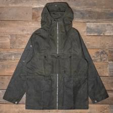 HAWKWOOD MERCANTILE Glyder Waxed Jacket Olive