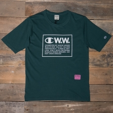 CHAMPION WOOD WOOD 212662 Rick T Shirt Gs545 Green