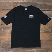 CHAMPION WOOD WOOD 212662 Rick Back Print T Shirt Kk001 Black