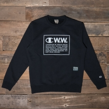 CHAMPION WOOD WOOD 212658 Crew Neck Sweatshirt Kk002 Black