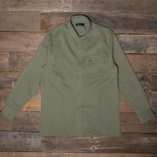 Fred Perry M5520 Twill Utility Overshirt 225 Olive