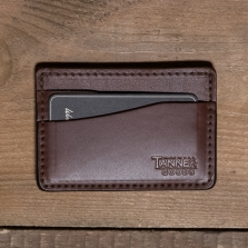 TANNER GOODS Journeyman Card Holder Cognac