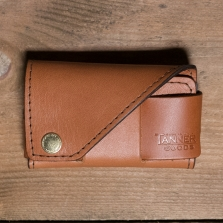TANNER GOODS Legacy Card Holder Saddle Tan
