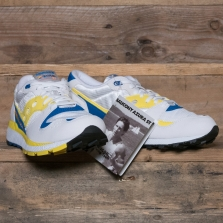 SAUCONY Azura S70437 1 White Yellow Blue