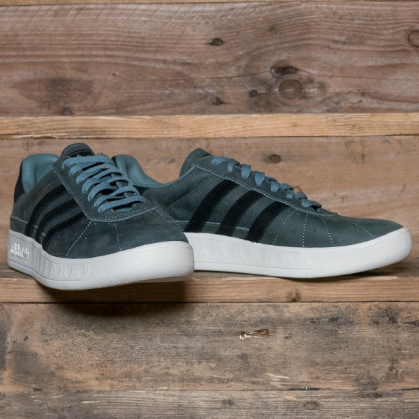 best online 100% authentic factory authentic adidas Originals D96791 Munchen Pu Raw Green – The R Store