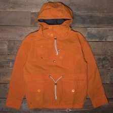 HAWKWOOD MERCANTILE Canoeist Smock Waxed Cotton Orange