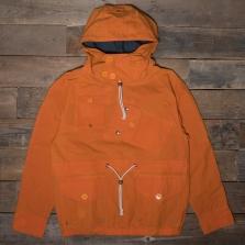 HAWKWOOD MERCANTILE Canoeist Smock Waxed Cotton Orange