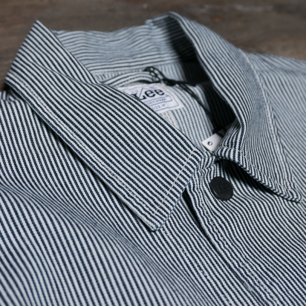 Lee Loco Jacket L88miwks Hickory Stripe The R Store