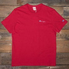 CHAMPION 211985 Logo T Shirt Rs053 Red