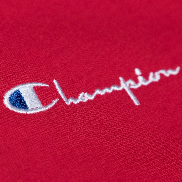 CHAMPION 211985 Logo T Shirt Rs053 Red – The R Store