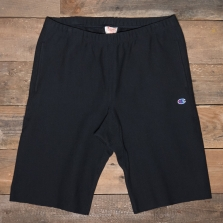 CHAMPION 212584 Fleece Back Bermuda Shorts Kk001 Black