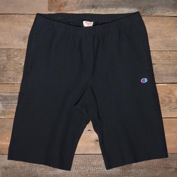 Champion 212584 Fleece Back Bermuda Shorts Kk001 Black