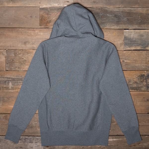 Champion 212579 Hooded Zip Sweatshirt Em519 Dark Grey