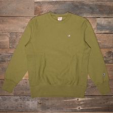 CHAMPION 212572 Reverse Weave Fleece Back Sweat Gs543 Olive