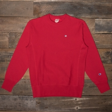 CHAMPION 212572 Reverse Weave Fleece Back Sweat Rs053 Red