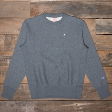 CHAMPION 212572 Reverse Weave Fleece Back Sweat Em518 Dark Grey