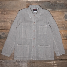 VETRA Number 4 Short Linen Work Jacket 2l77 Rigging