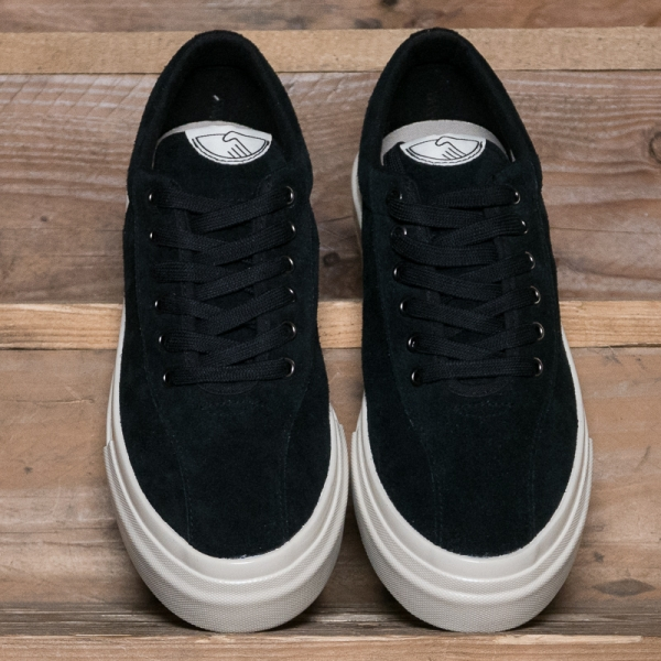Stepney Workers Club Dellow M Suede Black The R Store