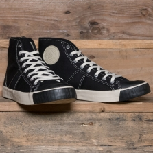 COLCHESTER RUBBER CO. 1892 National Treasure High Top Black
