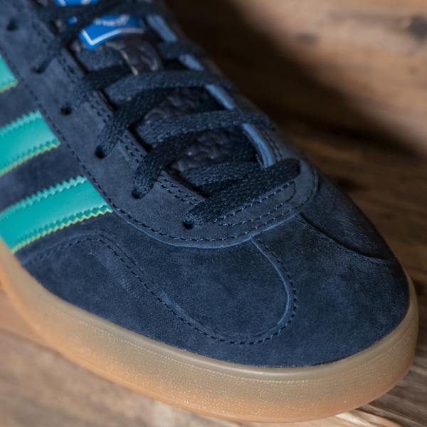 adidas originals g27501 gazelle indoor navy green the r store. Black Bedroom Furniture Sets. Home Design Ideas