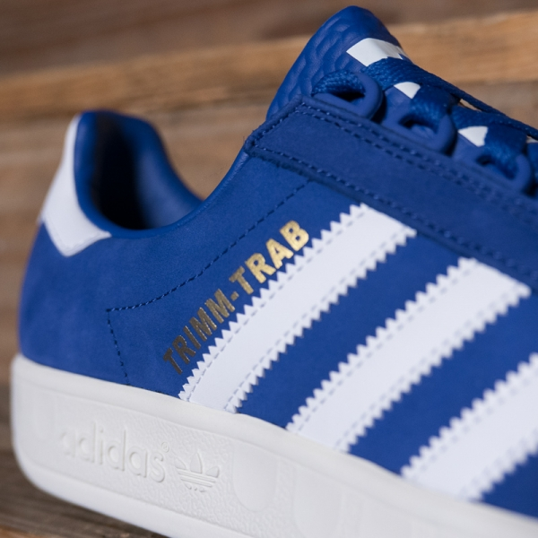 Adidas Originals Bd7628 Trimm Trab Blue White The R Store