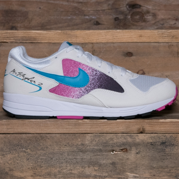 Nike Air Skylon Ii Ao1551 110 White Blue Lagoon The R Store