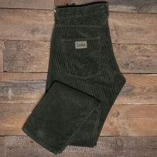 LOIS 188 Terrace Jumbo Cord Trousers 78 Green Olive