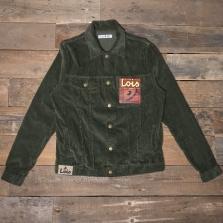 LOIS 1001 Tejana Jumbo Cord Jacket 78 Green Olive