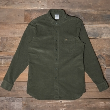 LOIS 1115 Thomas Thincord Shirt 78 Green Olive
