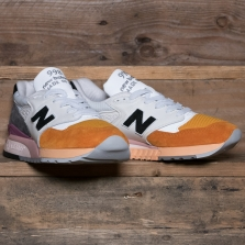 New Balance Made in USA M998psd Made In Usa Coastal Pack Peach Orange Dark Grey