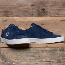 Fred Perry B6135 Underspin Suede 266 Carbon Blue