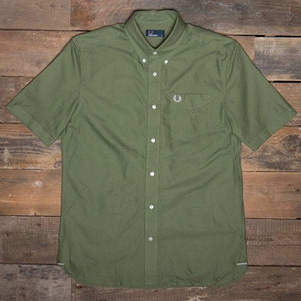 Fred Perry M6601 Classic Oxford Ss Shirt H94 Cypress The