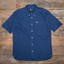 Fred Perry M6601 Classic Oxford Ss Shirt 143 French Navy