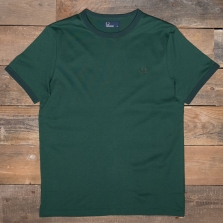 Fred Perry M3519 Ringer T Shirt 426 Ivy