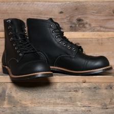 Red Wing 08084d Iron Ranger Black