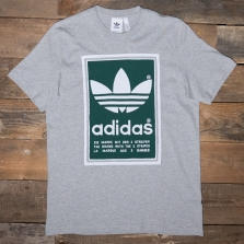 adidas Originals Ed6939 Filled Label Tee Grey Green