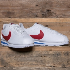 NIKE Classic Cortez Leather 749571 154 White Varsity Red