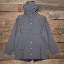 Rains Waterproof Jacket 18 Charcoal