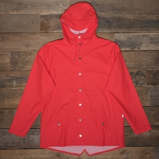 Rains Waterproof Jacket 08 Bright Red