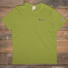 CHAMPION 211985 Logo T Shirt Gs061 Bright Green