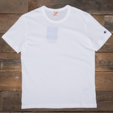 CHAMPION 210971 Reverse Weave T Shirt Ww001 White
