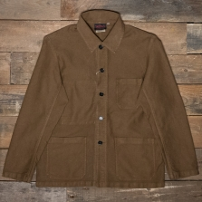 VETRA Number 4 Short Work Jacket 3m67 Moleskin Camel