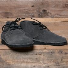 YOGI Glenn Suede Crepe Boot Charcoal