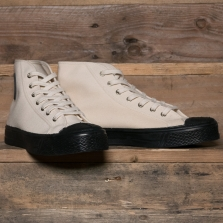 US RUBBER CO Original High Top Off White